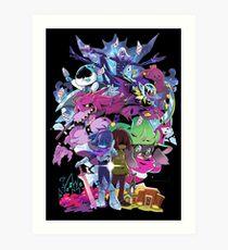 Deltarune - Adventure Art Print