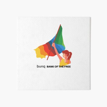 bunq flag Art Board Print