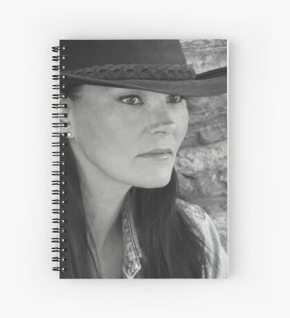 Bonnie In Black And White #3 Spiral Notebook