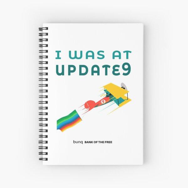 Update 9 Spiral Notebook