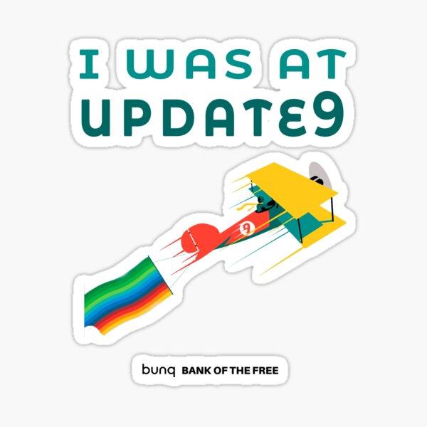 Update 9 Sticker