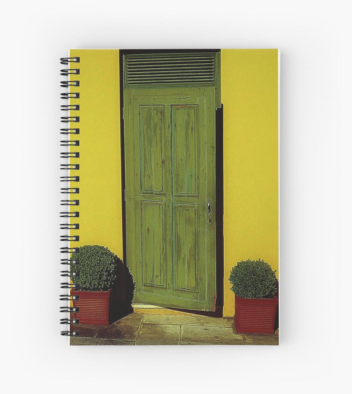 Green Door by EvaMarIza