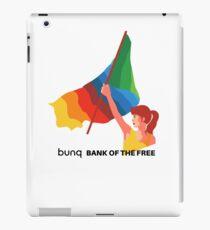 bunq flag iPad Case/Skin