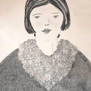 the eskimo girl by TessAndre