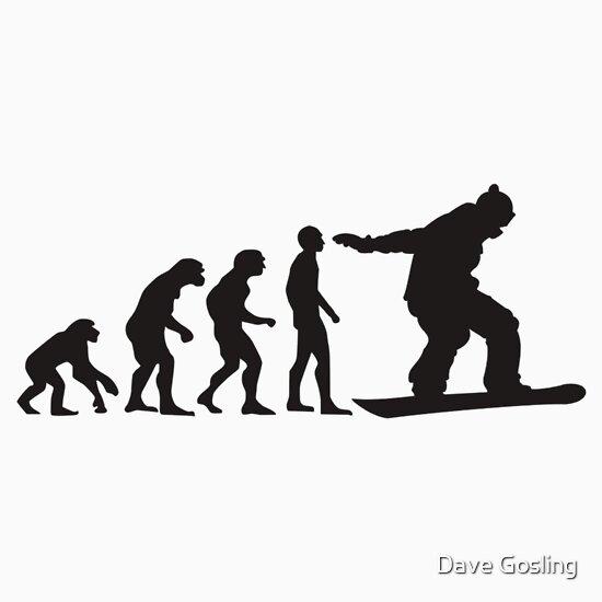 TShirtGifter presents: Snowboard Evolution