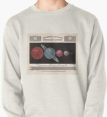 Vintage Solar System Size Comparison Chart (1855) Pullover