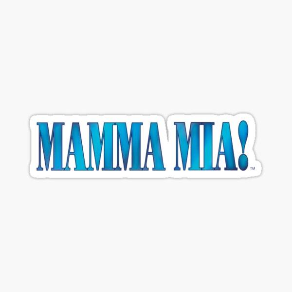 Mamma Mia musical  Sticker