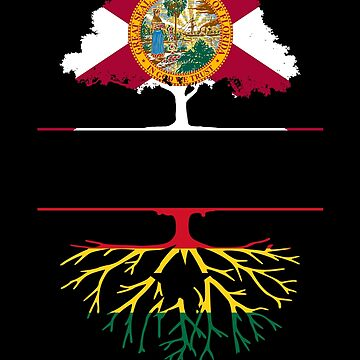 Florida Grown with Ghanaian Roots Design by ockshirts