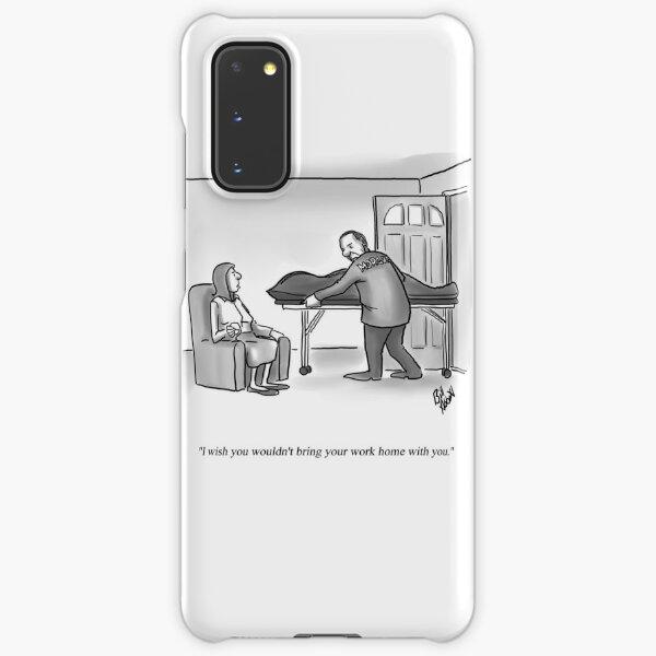 Funny Percenters Mortuary Home Work Cartoon Samsung Galaxy Snap Case