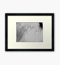 I See The Light. Framed Print