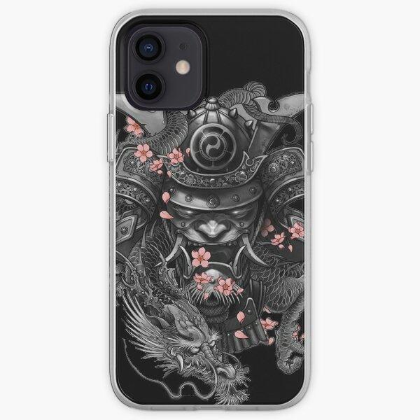 Casque samouraï Coque souple iPhone