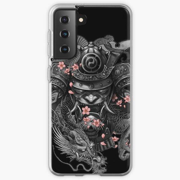 Casque samouraï Coque souple Samsung Galaxy