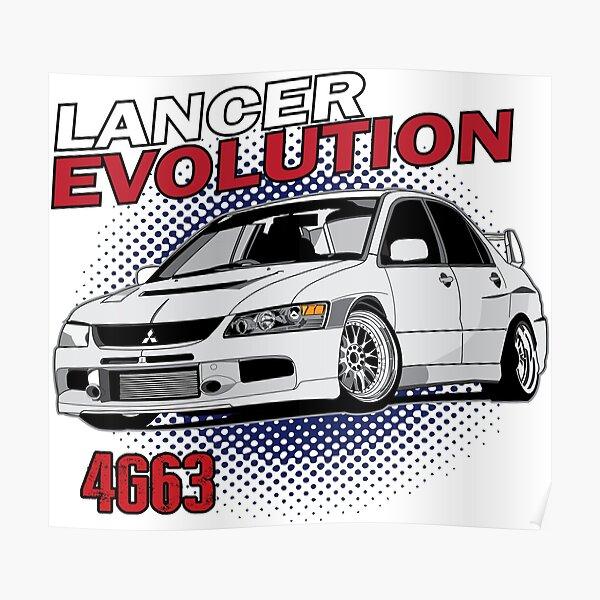 Photo Poster Print Art * All Sizes MITSUBISHI EVOLUTION IX AA773 CAR POSTER