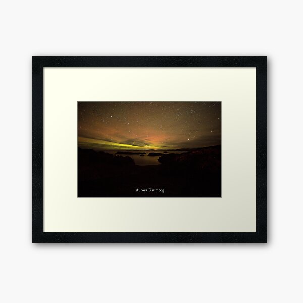 Aurora Drumbeg #3 Framed Art Print