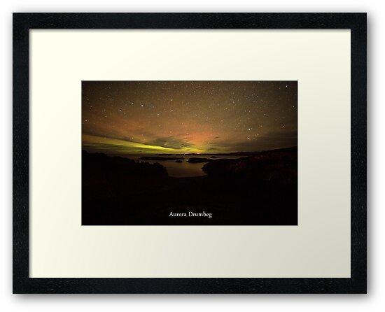 Aurora Drumbeg #3 by Alexander Mcrobbie-Munro