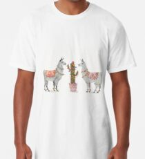 llamas Long T-Shirt