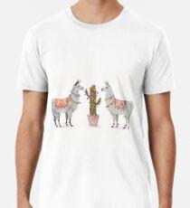 llamas Premium T-Shirt