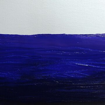 Painting of water in acrylic on canvas by RiseAndConquer