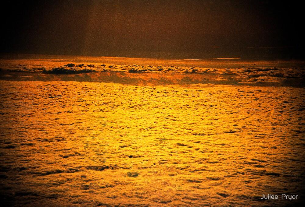 do angels sleep in golden clouds? by Juilee  Pryor