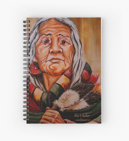The Healer Detail #4 Spiral Notebook