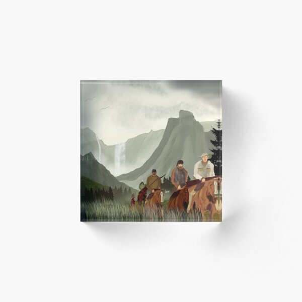 Frontier Trail Acrylic Block