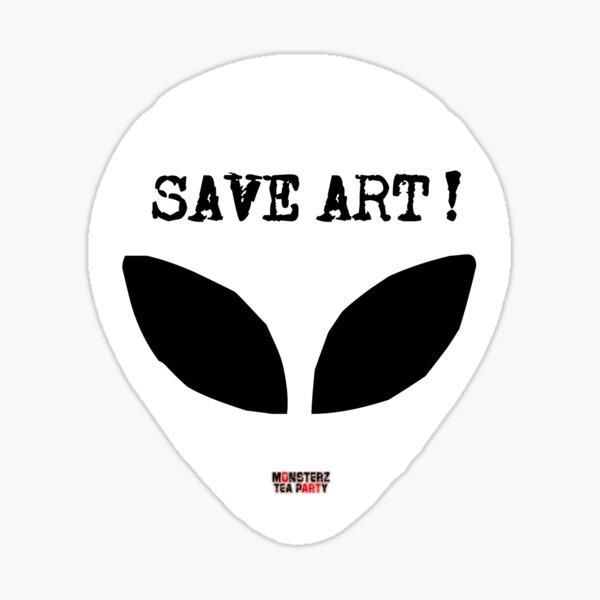 Save ART Sticker