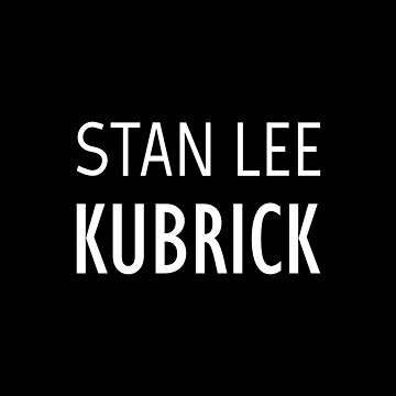 Stan Lee Kubrick by qqqueiru