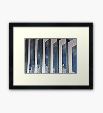 Office and reflections Framed Print
