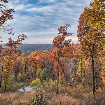 Fall at Ponca, Arkansas in the Ozarks by Miracles