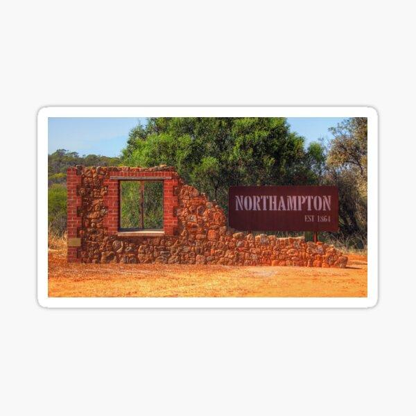 Northampton - Western Australia Sticker