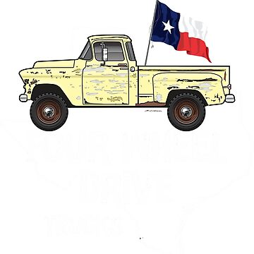 50s Chevy Truck dark colors apparel by JRLacerda