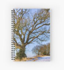 To Tache Wood Spiral Notebook