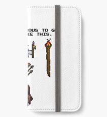 Pixelart retrogaming adventure iPhone Wallet/Case/Skin