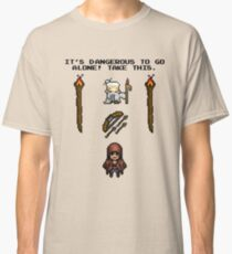 Pixelart retrogaming adventure Classic T-Shirt