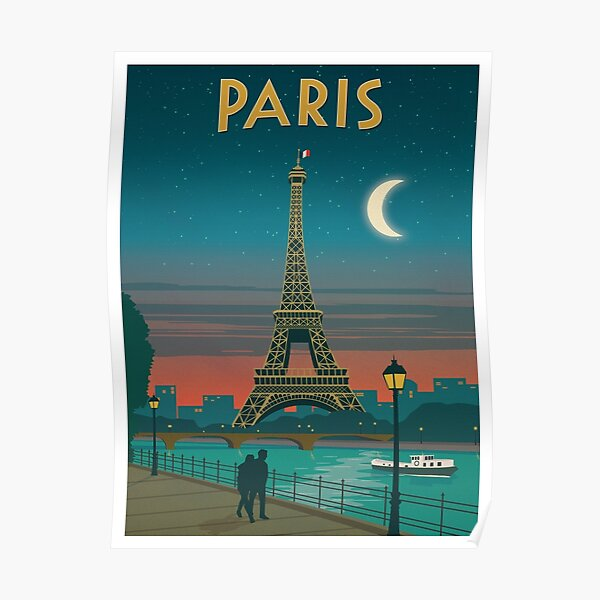VINTAGE PAU FRANCE FRENCH RESORT TRAVEL TOURISM POSTER PAINTING ART CANVAS PRINT