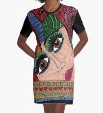 Dreamy Woman Graphic T-Shirt Dress