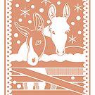 Donkeys by Alice in Underland