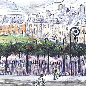 Place des Vosges from Number 23 by JohnDouglas