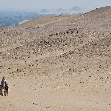 Giza, Egypt by gerdagrice