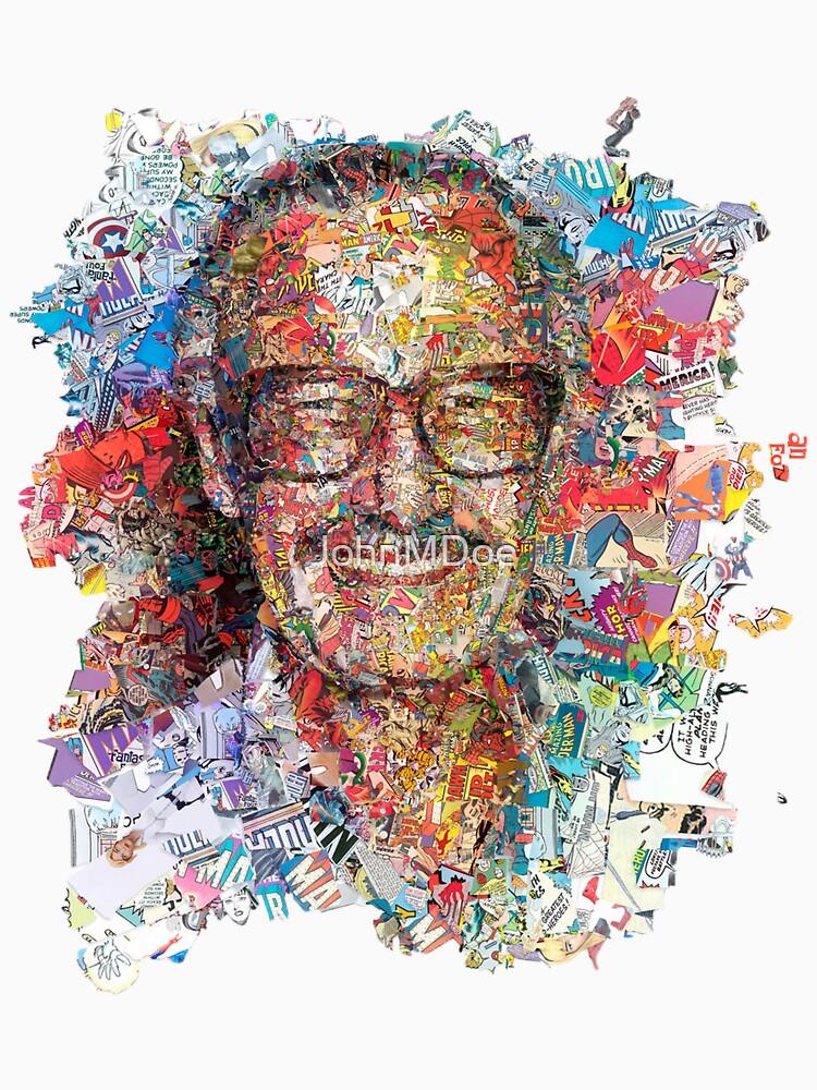 Stan Lee Collage - Tribut von JohnMDoe