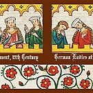 Medieval Germany, Ladies at the Tournament  by edsimoneit