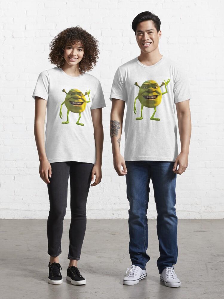 Shrek Mike Wazowski Meme T Shirt By Madgeik Redbubble