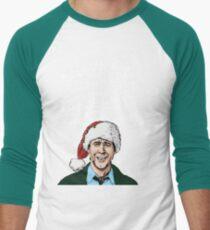 Griswold alternative Christmas card Men's Baseball ¾ T-Shirt