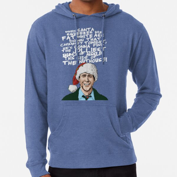 Griswold alternative Christmas card Lightweight Hoodie