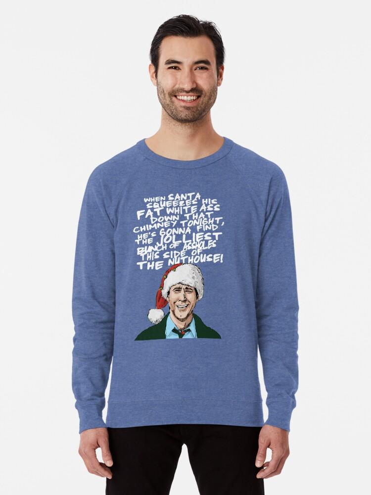 Alternate view of Griswold alternative Christmas card Lightweight Sweatshirt
