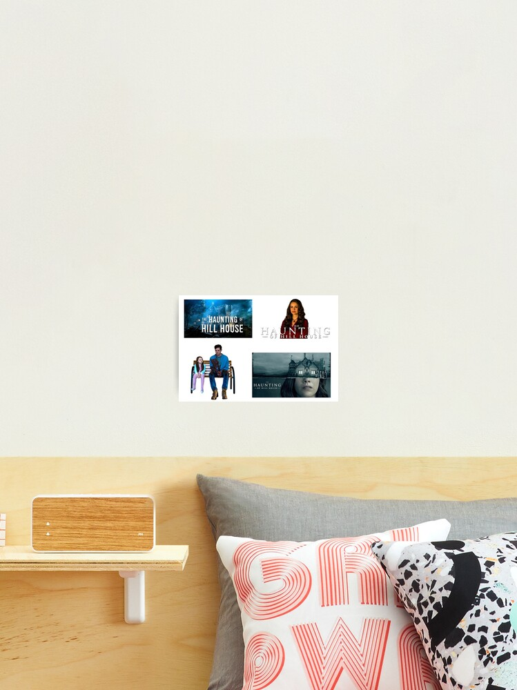 The Haunting Of The Hill House Set Of 4 Sticker Packs Cool Crazy Insane Horror Tv Shows Gifts Presents Ideas Photographic Print By Avit1 Redbubble