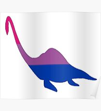 Bisexual Loch Ness Monster Pride Poster