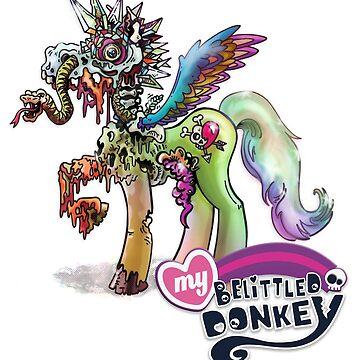 My Belittled Donkey Spot Illustration by karlfrey