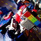 Optimus Pride by Aaron Holloway