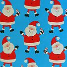Happy Santas by FrankieCat